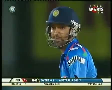 IND vs AUS 2013 T20 Highlights - 10 October 2013 - Part 4