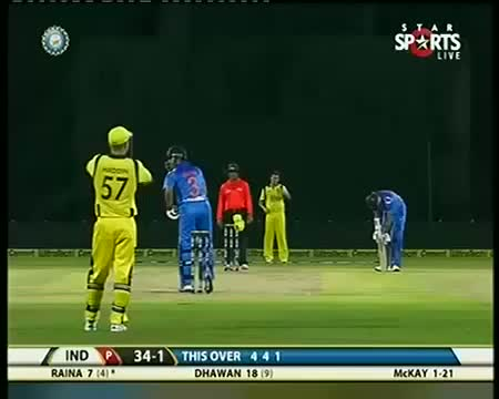 IND vs AUS 2013 T20 Highlights - 10 October 2013 - Part 5
