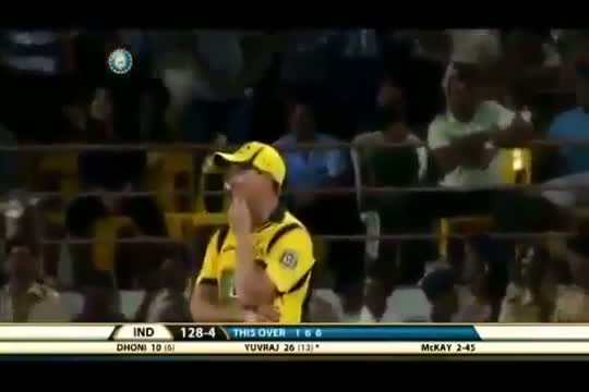 IND vs AUS 2013 T20 Highlights - 10 October 2013 - Part 6