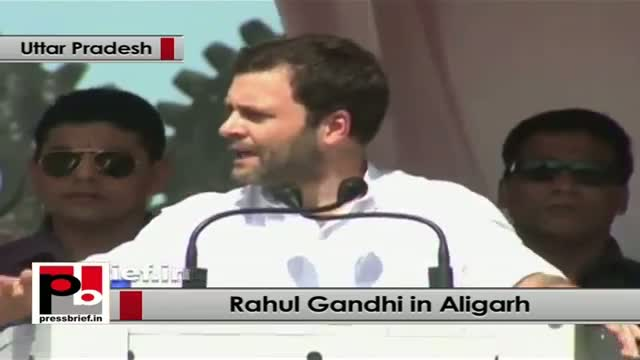 Rahul Gandhi in Aligarh: There should not be a time to tell the truth