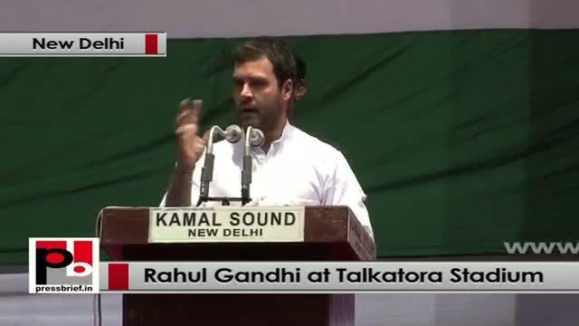 Rahul Gandhi at Dalit Adhikar Diwas rally in Delhi wants more Dalit representation