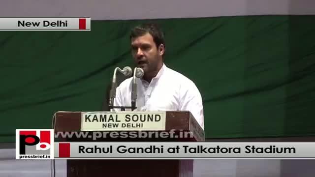 Rahul Gandhi at Dalit Adhikar Diwas rally: RTI is a tool to fight corruption