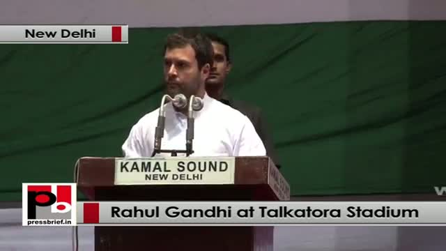 Rahul Gandhi at Dalit Adhikar Diwas rally in Delhi stresses for the need of empowering aam aadmi