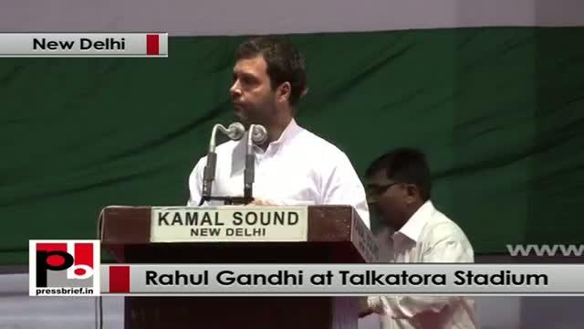 Rahul Gandhi at Dalit Adhikar Diwas rally slams opposition for blocking UPA policies