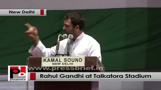Rahul Gandhi at Dalit Adhikar Diwas rally: Congress is the party of the poor