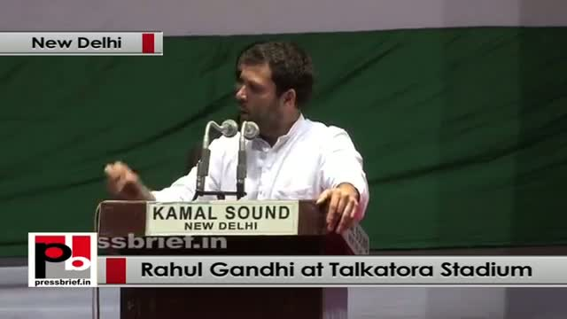 Rahul Gandhi at Dalit Adhikar Diwas rally talks about Congress's inclusive policy