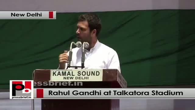 Rahul Gandhi at Dalit Adhikar Diwas rally assures full support for Dalit empowerment