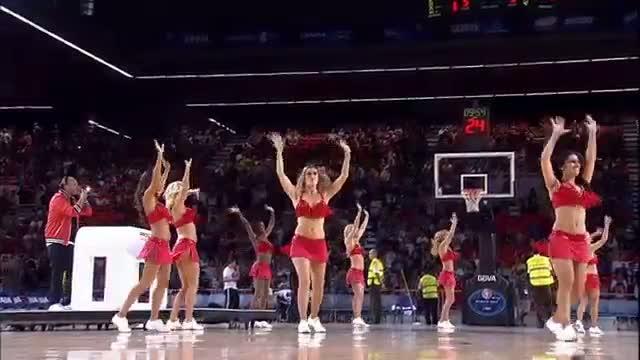 NBA: Juan Magan Performs at Halftime of NBA Game!