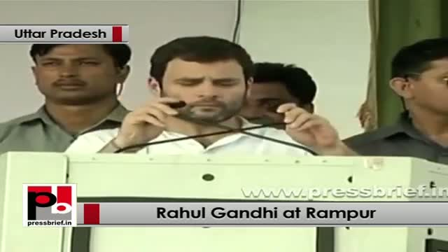 Rahul Gandhi in Rampur: No one can suppress people's voice
