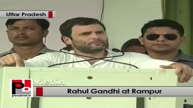 Rahul Gandhi in Rampur lauds UPA's Food Security Law; slams opposition