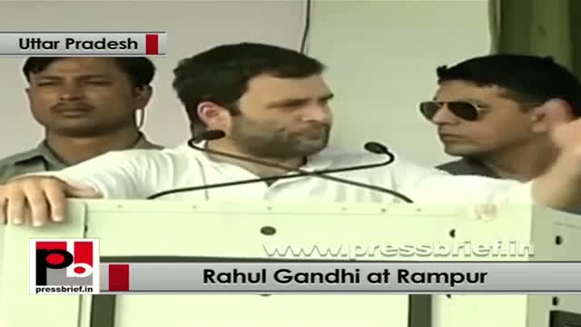 Rahul Gandhi in Rampur: The vision of Congress party is the vision of India