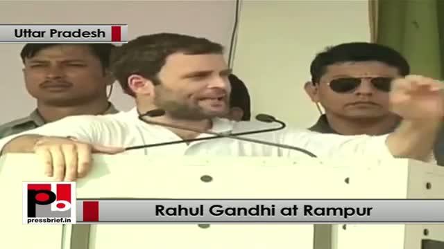 Rahul Gandhi in Rampur strikes chord with women, youth