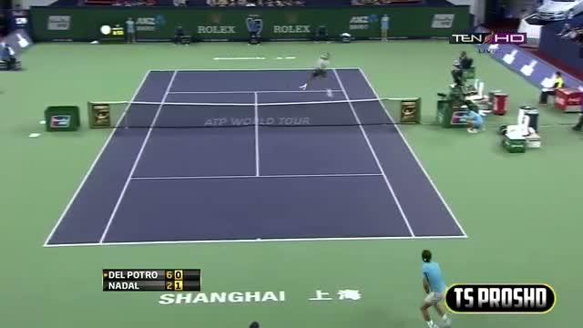 Rafael Nadal Vs Juan Martin Del Potro SEMI FINAL HIGHLIGHTS SHANGHAI MASTERS 2013 [HD]