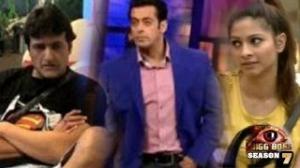 Armaan ANGRY with Salman Khan Bigg Boss 7 14th October 2013 FULL EPISODE