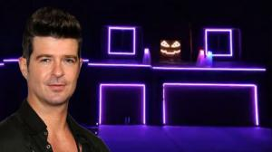 Halloween Light Show 2013 - Blurred Lines