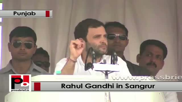 Rahul Gandhi: Punjab provides food for the entire nation