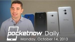 Google Nexus 5 video, HTC One max review, Android Mobile Meter & more