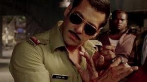 Salman Khan as Chulbul Pandey - Dabangg