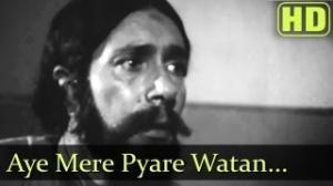 Kabuliwala Movie Songs - Aye Mere Pyare Watan - Balraj Sahni - Usha Kiran - Ranu Mukherjee - Savita Banerjee