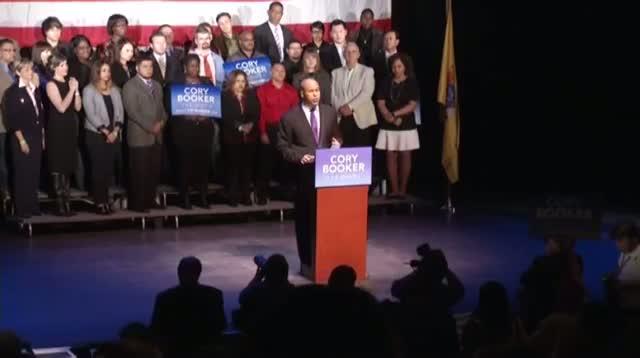 Newark Mayor Booker Wins Senate Seat From NJ