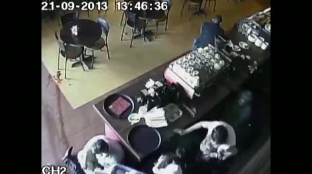Graphic Video Shows Kenyan Mall Attack