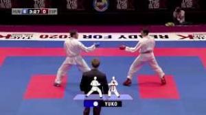 Luigi Busa vs Nuno Moreira. Bronze Medal Kumite Male -75kg. 48th European Karate Championships