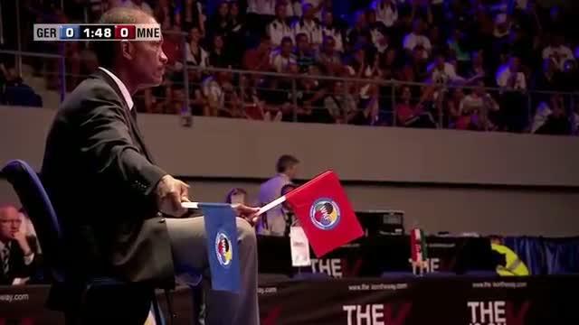 Jonathan Horne vs Almir Cecunjanin. Bronze Medal Kumite +84kg. 48th European Karate Championships