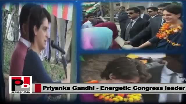 For Priyanka Gandhi, politics means serving the the poor