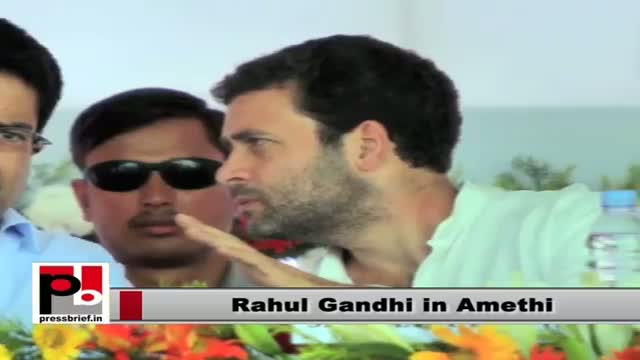 Rahul Gandhi in Amethi to launch mega food park