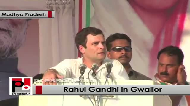 Rahul Gandhi in Gwalior: More youth and women must join politics to cleanse the system