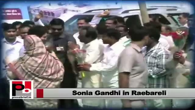 Sonia Gandhi: Congress always gave priority to farmers' issues