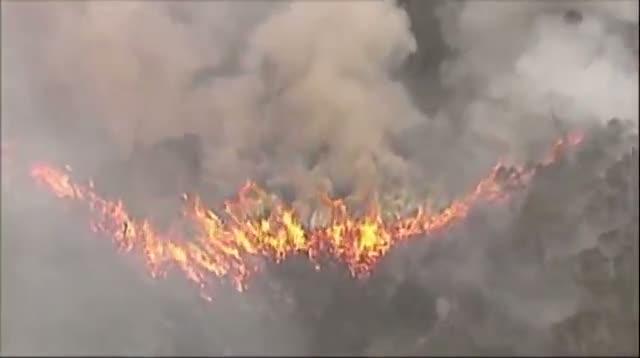 Firefighters Battle Wildfires in Australia