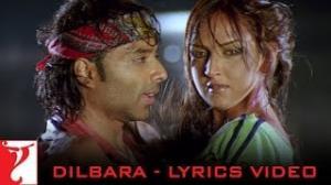 Dilbara - Full song with Lyrics - Dhoom - Uday Chopra & Esha Deol