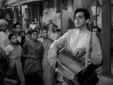 Hue Hum Jinke Liye Barbad - Bollywood Classic Hit Sad Song - Deedar (1951) - Dilip Kumar, Nargis [Old is Gold]