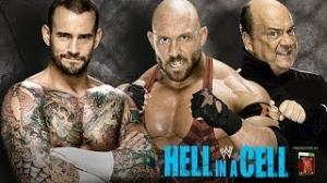 CM Punk vs. Ryback and Paul Heyman - Hell in a Cell - WWE '13 Simulation