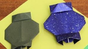 How to Make a Diwali Lantern - Origami Lessons (Happy Diwali)