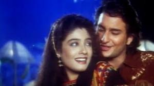 Chura Ke Daman - Bollywood Romantic Song - Imtihaan (1995) - Saif Ali Khan, Raveena Tandon