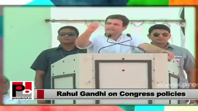 Rahul Gandhi: Congress wants development alongwith the empowerment of the downtrodden