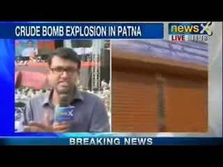 Crude bomb blast at Patna railway station ahead of Narendra Modi's rally