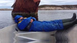 Waking Up a Sleeping Sailor With A Sunken Boat
