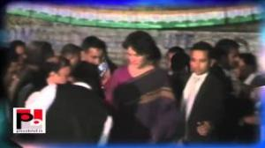 Priyanka Gandhi undertakes a two-day visit to Raebareli