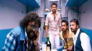 Husbands In Goa - Friends take a train ride to Goa - Funny scene