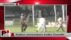 Sonia Gandhi pays tribute to Indira Gandhi