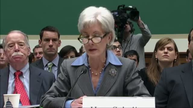 Secretary Sebelius Vows to Fix Flawed Launch