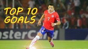 Alexis Sanchez - Top 10 Goals