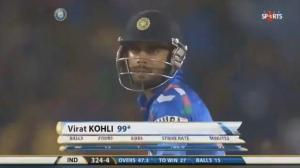 Virat Kohli 115 Runs Off 66 Balls - India Vs Australia - 6th Odi - 30/10/2013