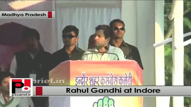 Rahul Gandhi in Indore slams BJP govt in Madhya Pradesh for not listening to people's voice