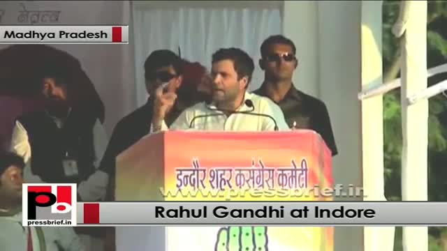 Rahul Gandhi in Indore (Madhya Pradesh) talks about Muzaffarnagar riots