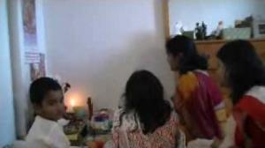 Laxmi Puja at Home - Happy Diwali To All