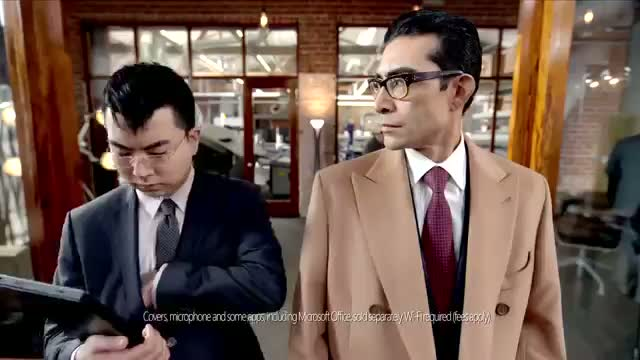 Microsoft Surface Pro Commercial